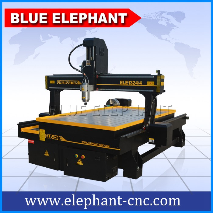 1324-4 cnc router 4 axis for stone and wood -1