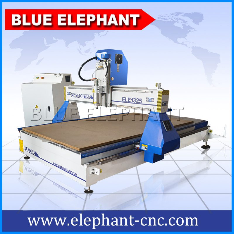 Ele1325 Desktop Cnc Wood Furniture Machine Blue Elephant