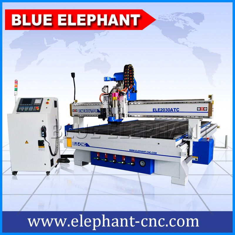 2030 atc spindle and oscillating knife cnc cutting machine -1