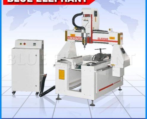 0508-4 rotary device cnc router for cylindrical object -1