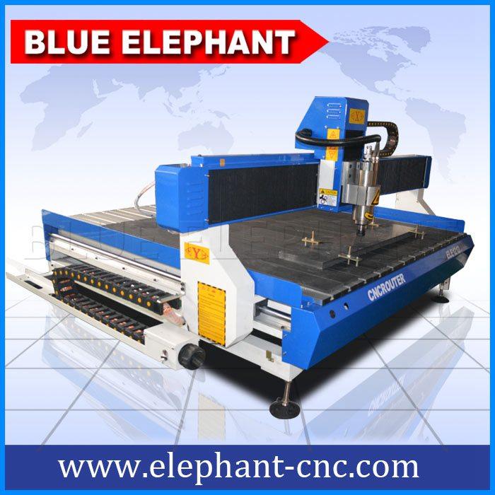 Ele1212 Desktop Cnc Router For Aluminum Blue Elephant