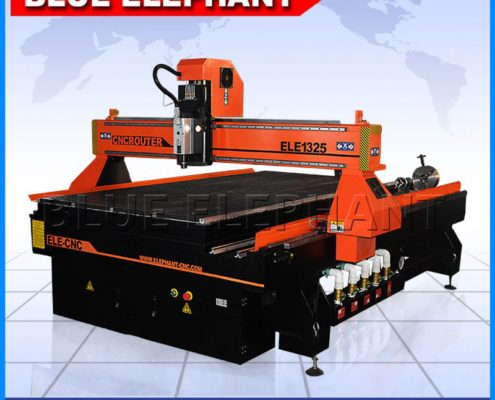 1325-4 rotary cnc router with mach3 controller -1