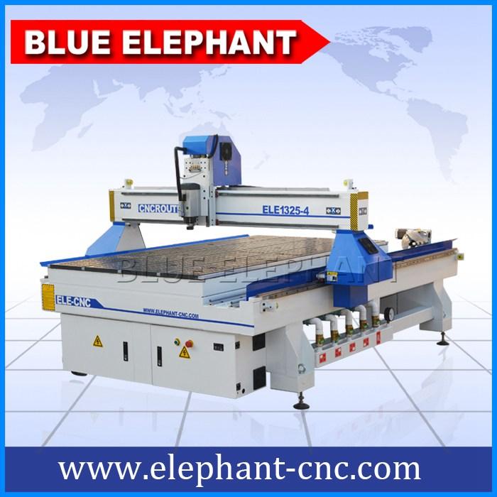 1325-4 rotary wood machine 4 axis -1