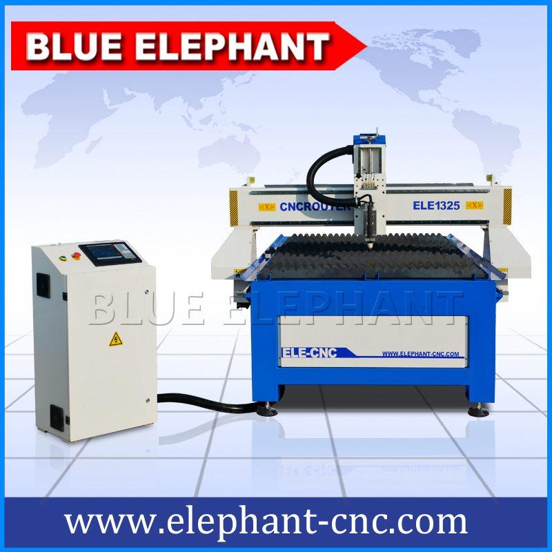 Ele1325 Cnc Plasma Cutting Machine Blue Elephant Cnc