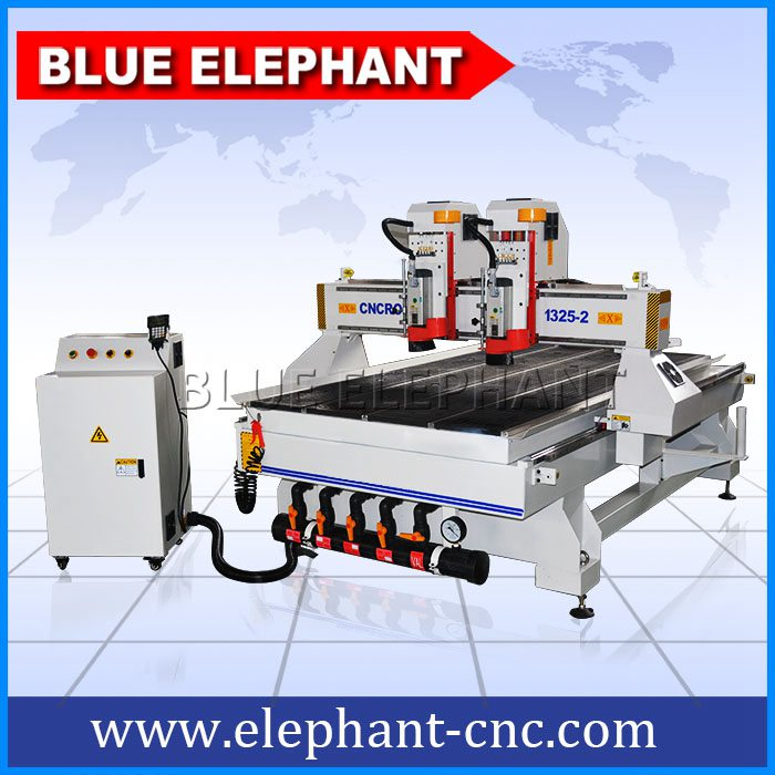 1325 double separate heads cnc wood router -1