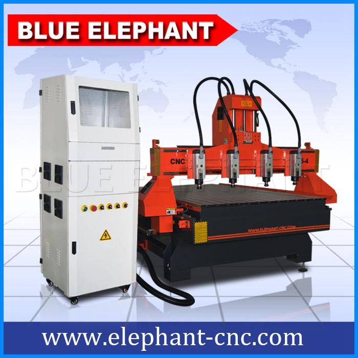 Ele1325 Multi Spindles Cabinet Cnc Router Machine Blue