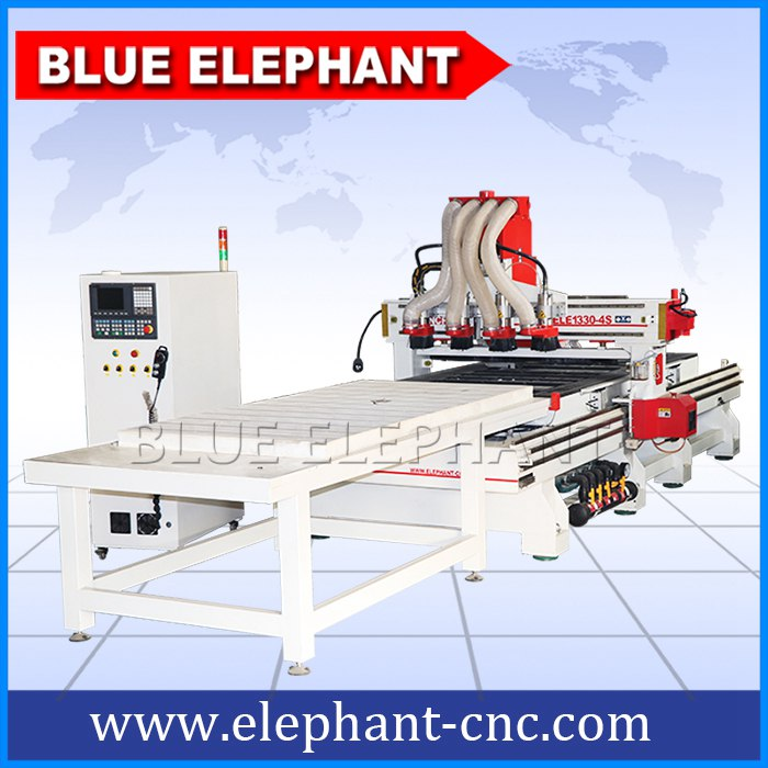 1330-4s four spindles cnc wood cutting machine -1
