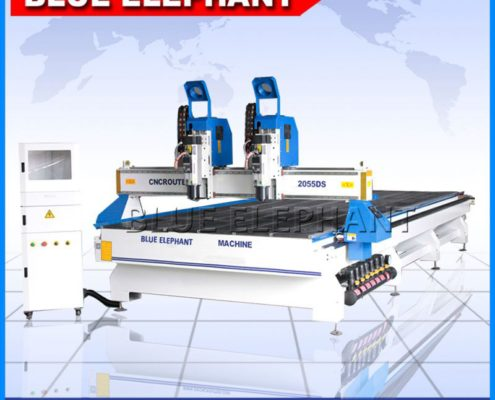 2055 independent doule head cnc machinery -1