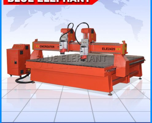 2425 two heads 3d cnc router machine -1
