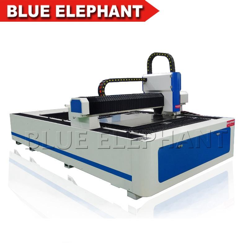 Ele1530 Metal Cutting Fiber Laser Cutting Machine Blue
