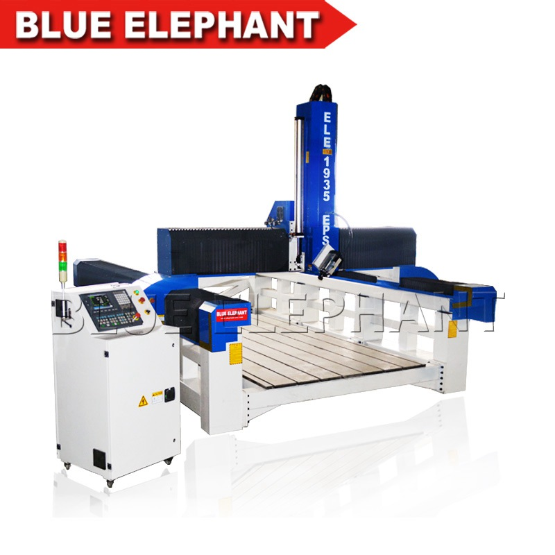 ele1935 styrofoam 4 axis cnc cutting machine (1)