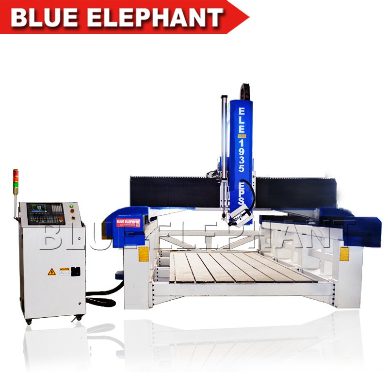 ele1935 styrofoam 4 axis cnc cutting machine (3)