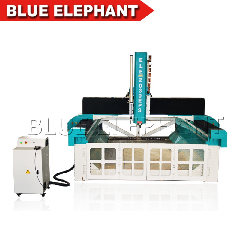 ele2030 cnc styrofoam 4 axis router machine (1)