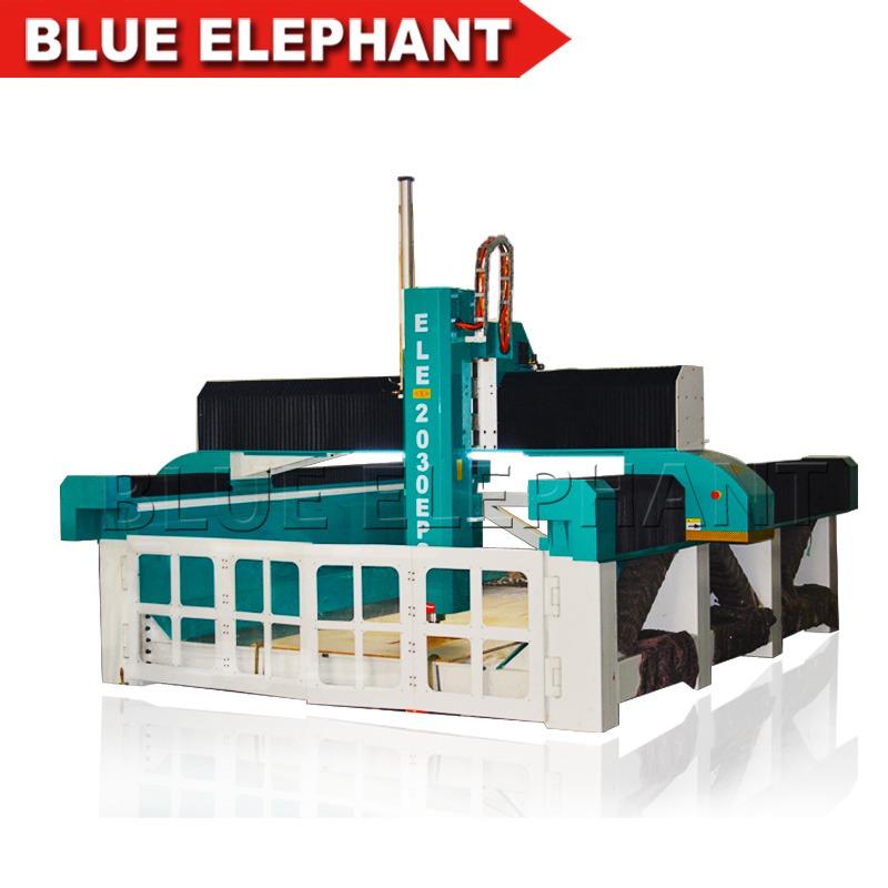 ele2030 cnc styrofoam 4 axis router machine (2)