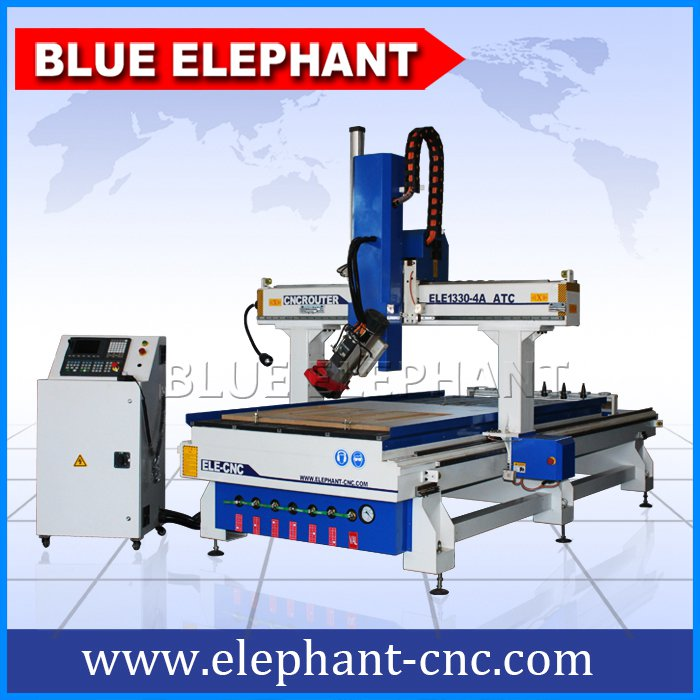 1330 4 axis atc cnc router spindle can rotated ±90 degree -1