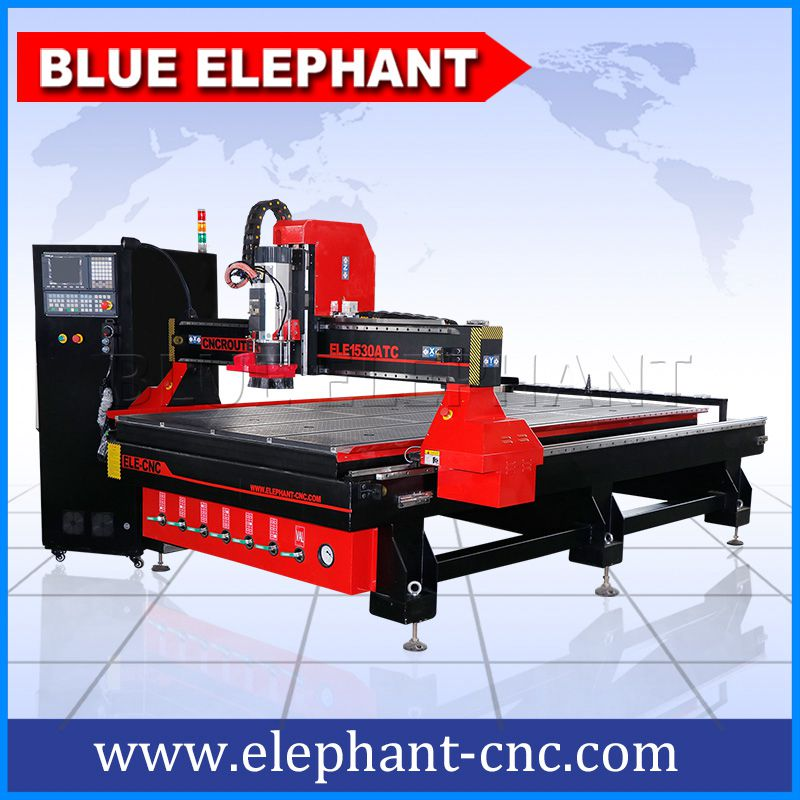 ELE1530 Atc Wood Cnc Router Can be Costumised - Blue