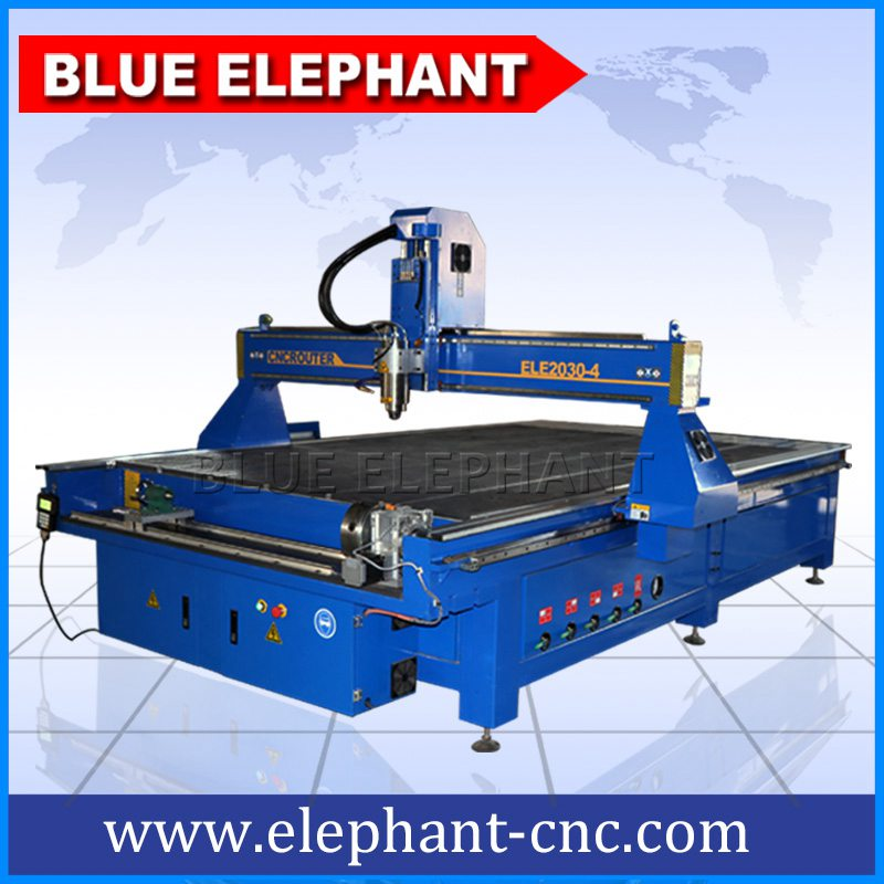 2030-4 large size wooden cnc machine with 4th axis -1