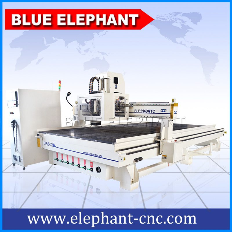 Ele2140 Carousel Atc Cnc Wood Furniture Router Machine