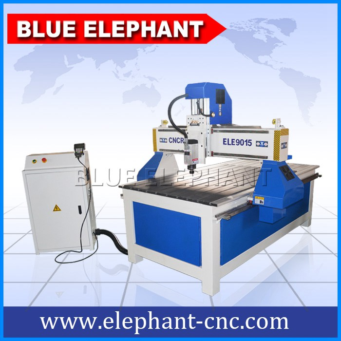 9015-4 cnc engraver with movable rotary device -1