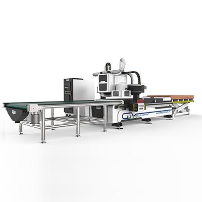 Auto Feeding Furniture Production Line3
