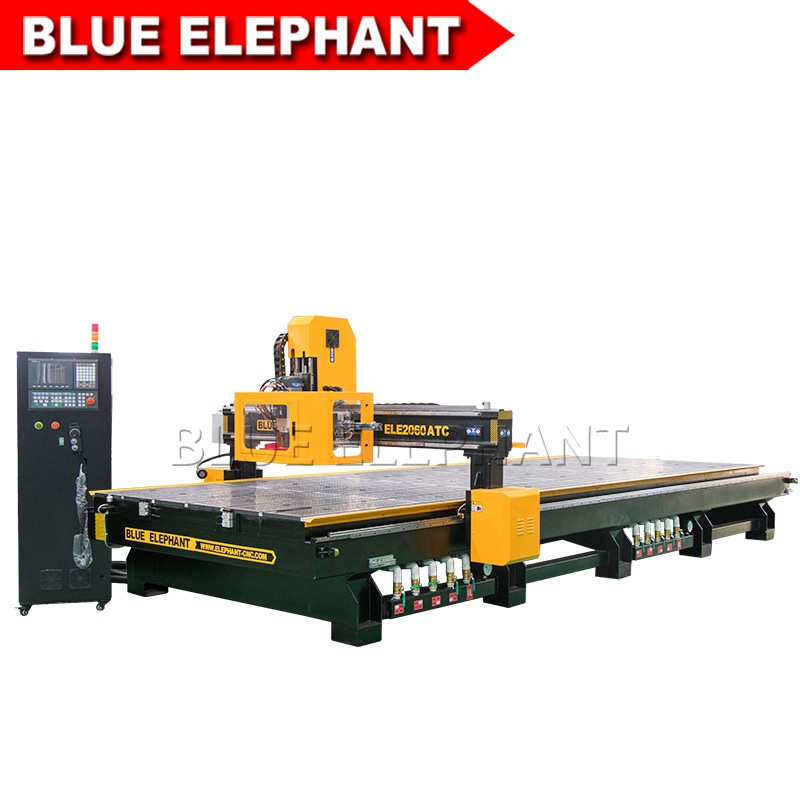 ele2060 cnc wood router with carousel auto tool changer