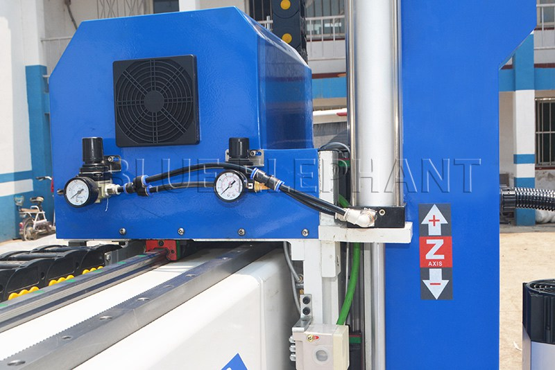 linear rail and rack of 1212 4 axis atc cnc router with siemens 828d controller