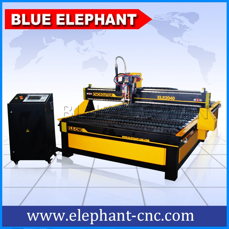 2040 Plasma Metal Cutting Machine Plasma Engraving Machinery Stainless Steel Plasma Cutter Mail: ELE2040 Plasma And Flame Cutting Machine