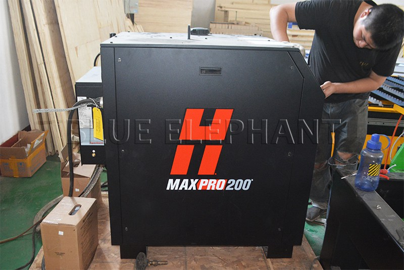 hypertherm 200a power of 2040 plasma and flame cutting machine