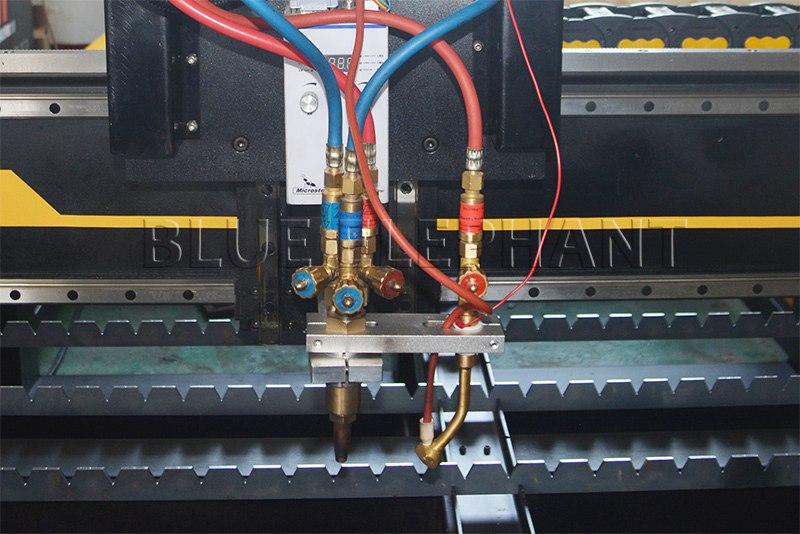 plasma and flame cutting head of 2040 plasma and flame cutting machine