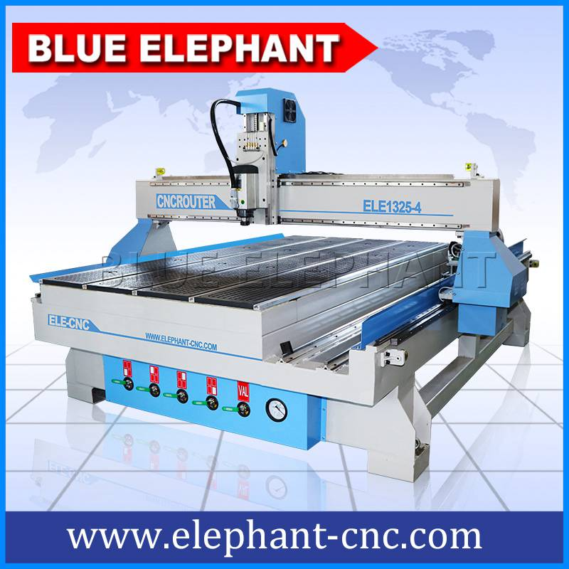 01 1325 4 axis rotary device cnc router with mach3 controller