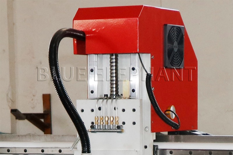 tbi ball screw of 1212 3 axis cnc router with helical rack and gear drive