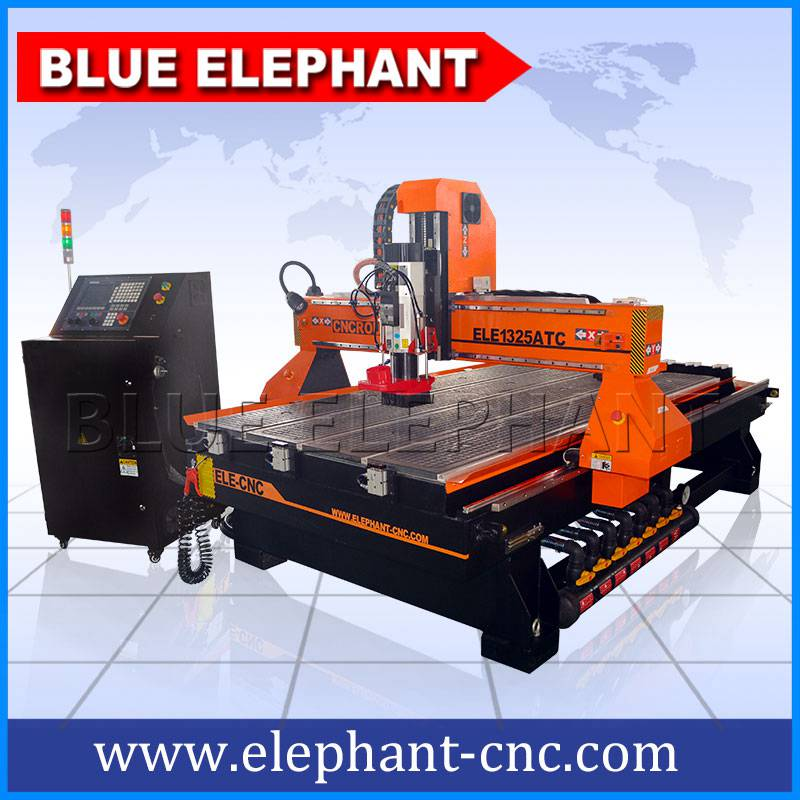 05 1325 atc cnc machinery with nk260 controller and hqd spindle