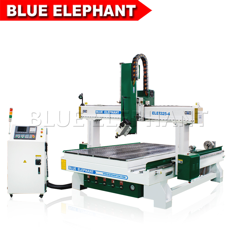 1325 spindle swing 4 axis cnc engraving machine 01