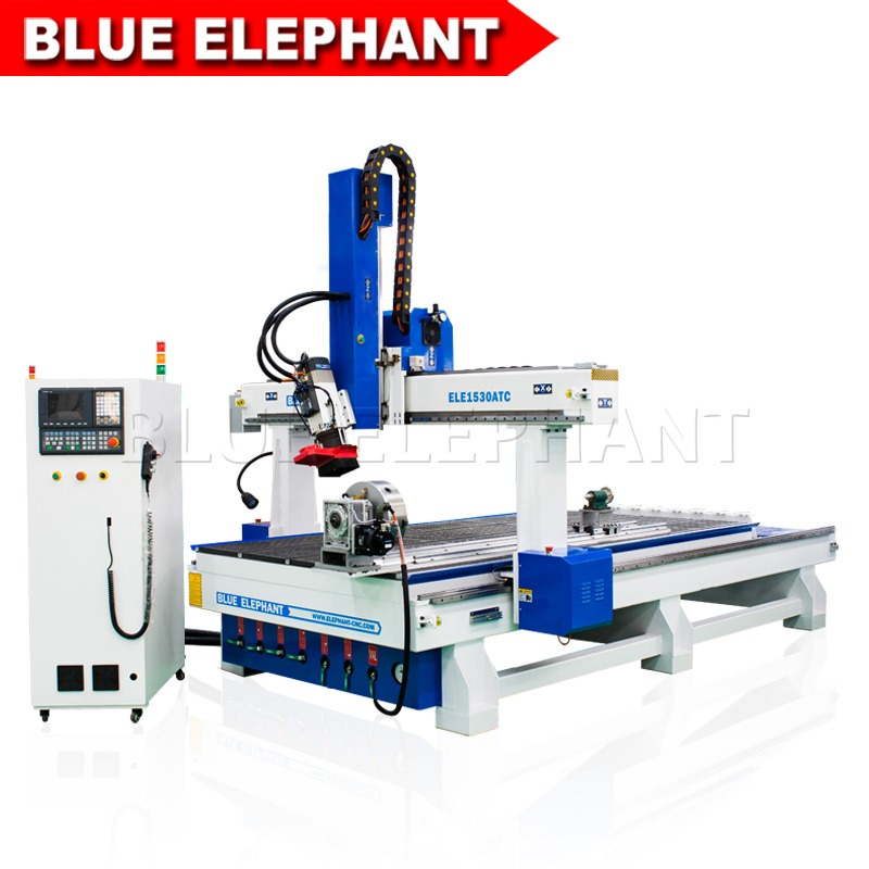 1530 linear atc 4 axis cnc router with rotary device 01