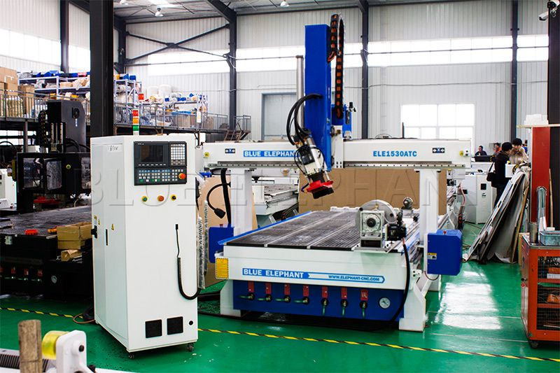 1530 Linear Atc 4 Axis Cnc Router With Rotary Device