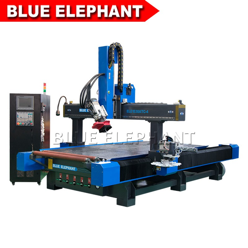 1530 carousel tool changer cnc router 4 axis 01