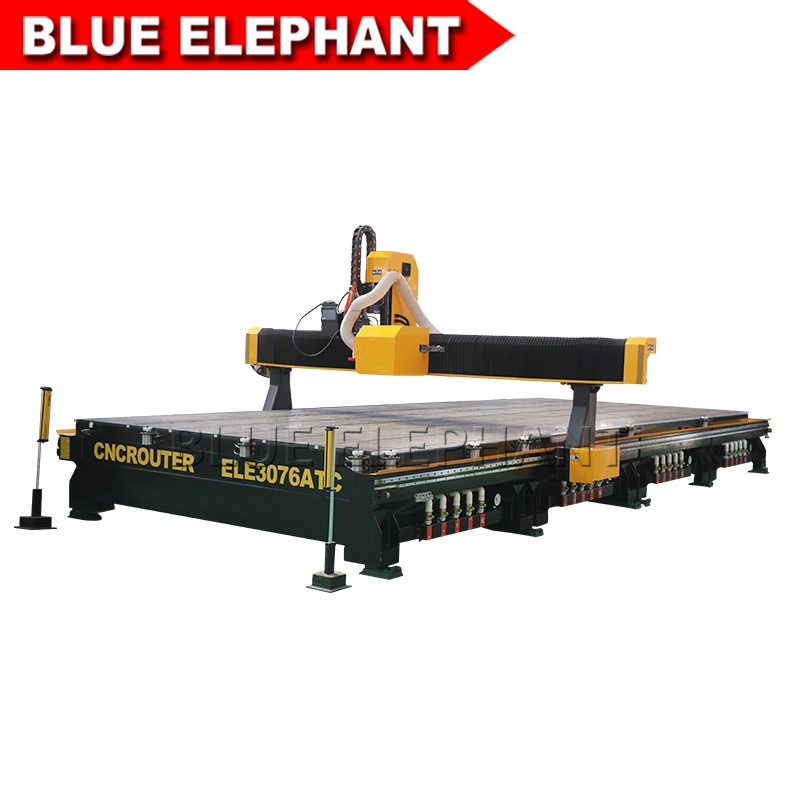 3076 3mx7.6m large working size atc cnc router -3