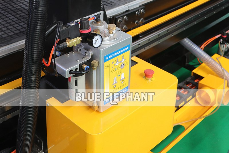 oil mist cooling sprayer of 3076 3mx7.6m large working size atc cnc router
