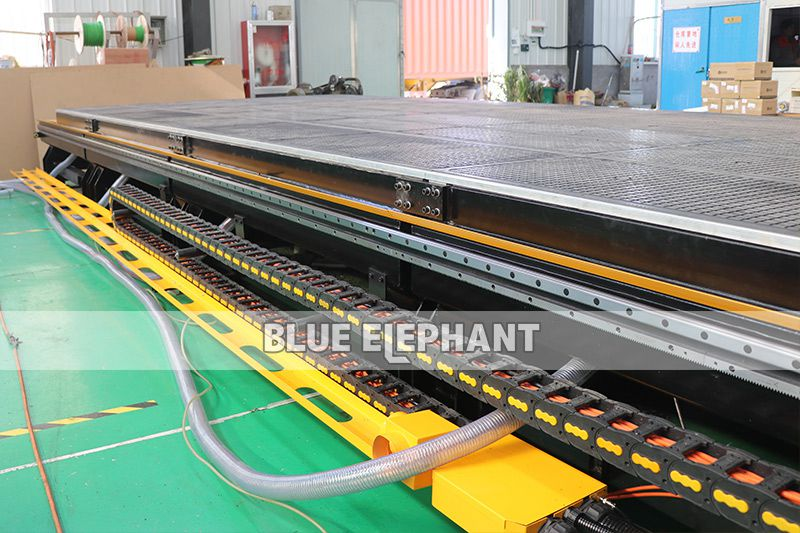 y axis of 3076 3mx7.6m large working size atc cnc router