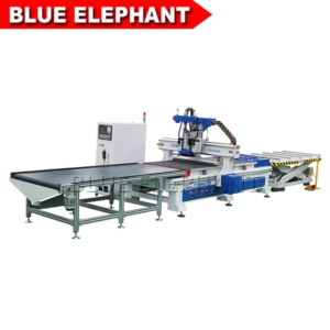 01 1325 automatic loading and unloading wood working machine