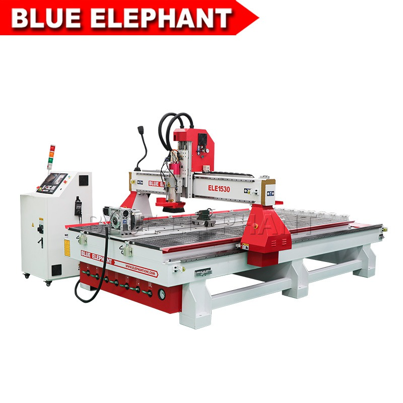 01 1530 atc cnc router with table rotary device