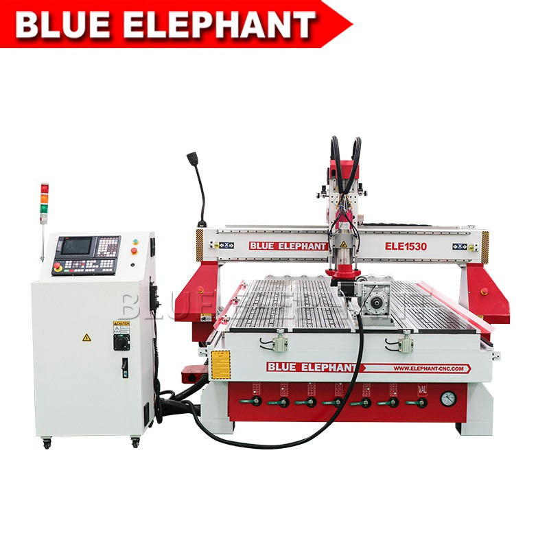 02 1530 atc cnc router with table rotary device