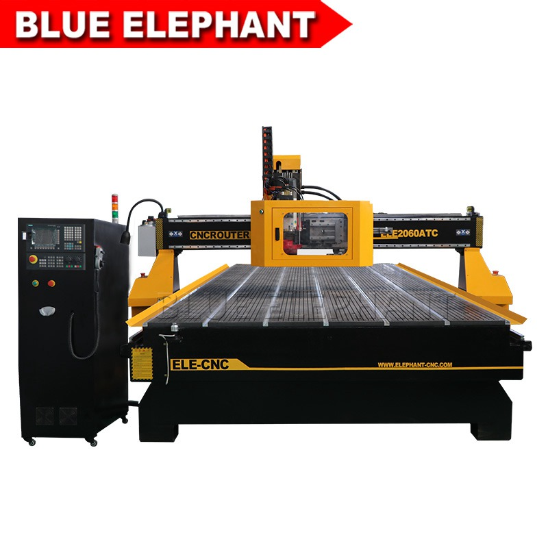 2060 cnc router atc with siemens controller 02
