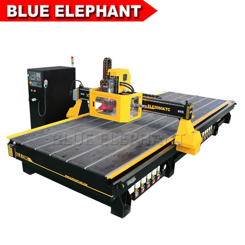 2060 cnc router atc with siemens controller 03