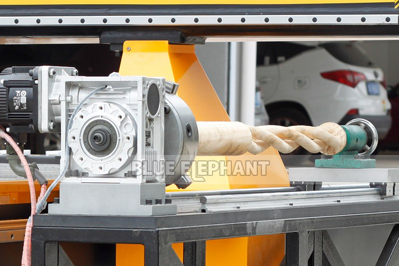 rotary device for 4 axis cylinder cnc router for wooden table legs