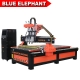 1325 pneumatic system three spindles cnc router