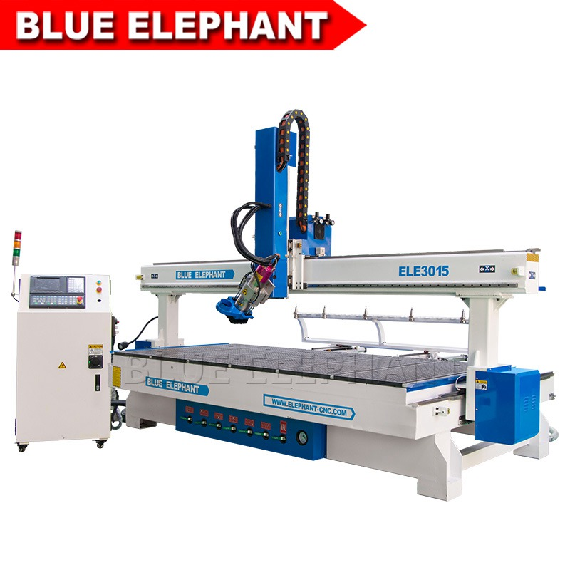 3015 Large Heavy Woodworking Cnc Router Machine Blue