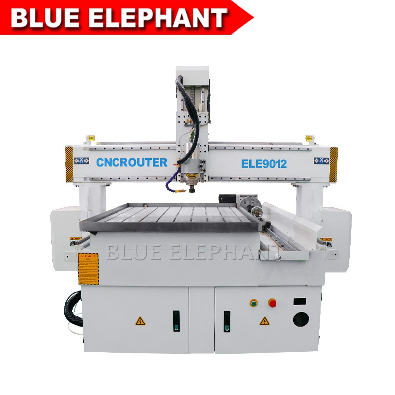 9012 4 axis cnc machinery for wood carving animal figures