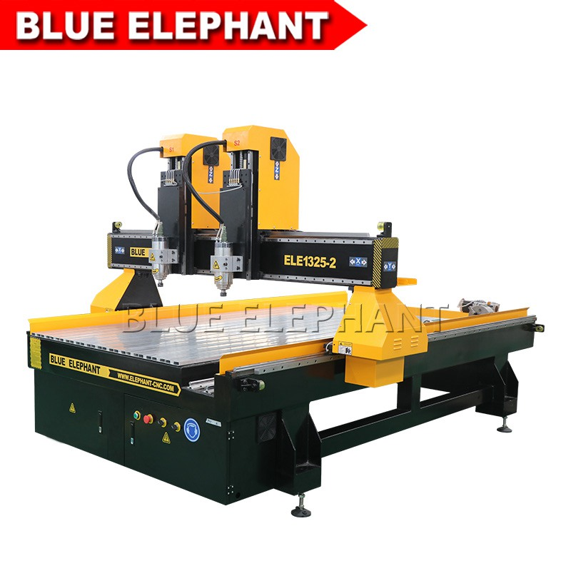 1325 2 spindles cnc carving machine for wooden door