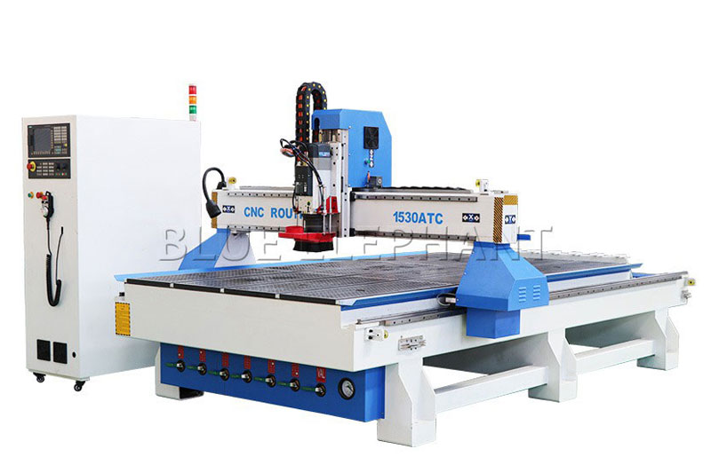 1530 automatic diy wood router with linear tool changer